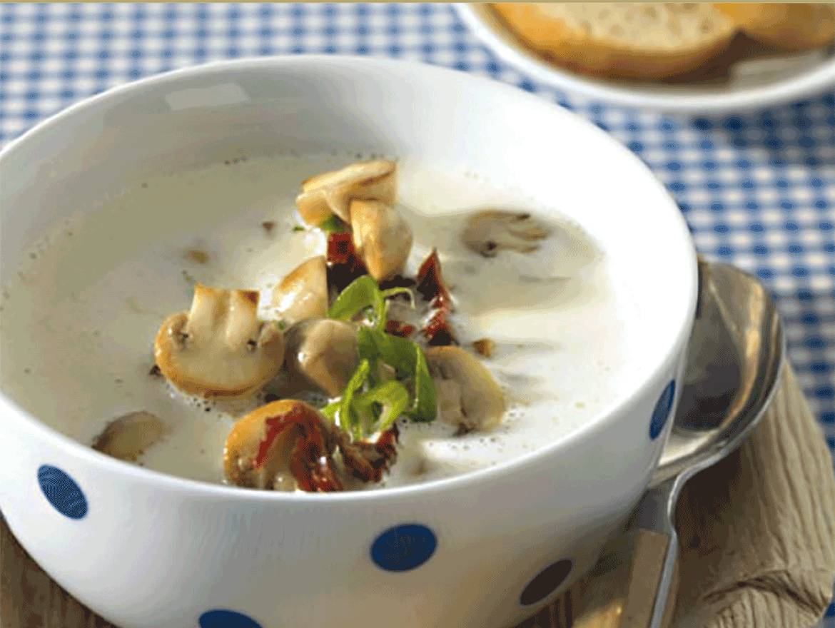 Bergkäsesuppe mit Pircher Williams